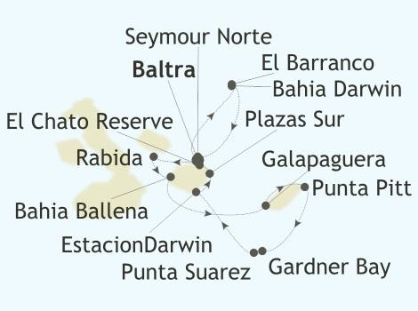 Galapagos map